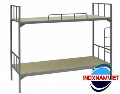 Giường tầng inox 001