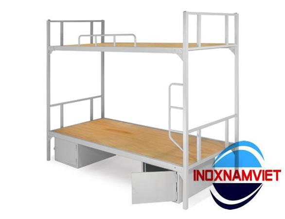 Giường tầng inox 003
