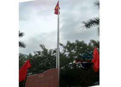 Cột cờ inox Nhà máy Z131 Thái Nguyên