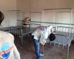 Giường inox Trung Tâm Chỉnh hình và Phục hồi CN Hải Phòng