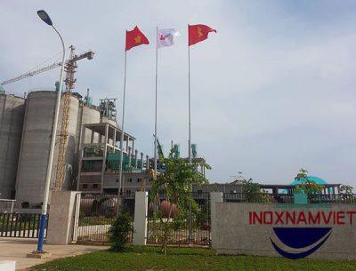 Cột cờ inox Xi măng Long Sơn Thanh Hóa