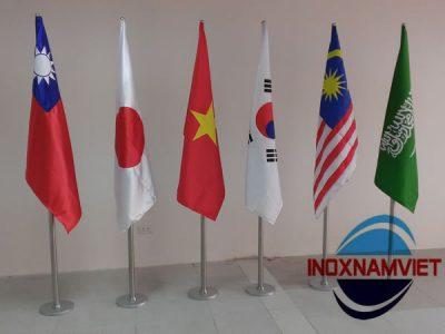 Cột cờ inox Văn phòng (Hàng đặt)